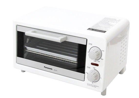 Lò nướng bánh mì Panasonic NT-GT1WRA đẹp nhỏ gọn