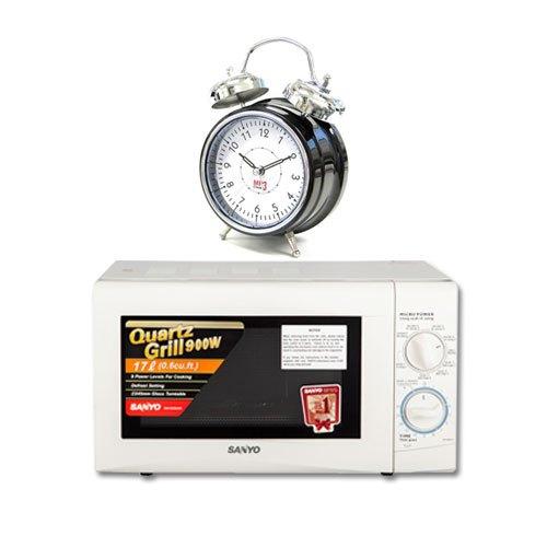 Lò vi sóng Sanyo EM-G205AW 17 lít - Chức năng hẹn giờ