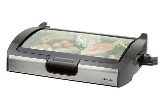 Vỉ nướng loại nào tốt? Vỉ nướng Steba VG200 có công suất 2200W