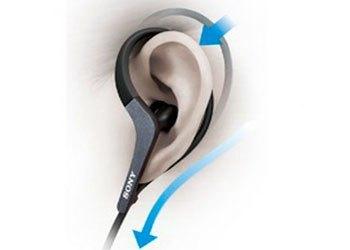 Tai nghe Sony MDR-AS400EX chống nước và chống ẩm ướt