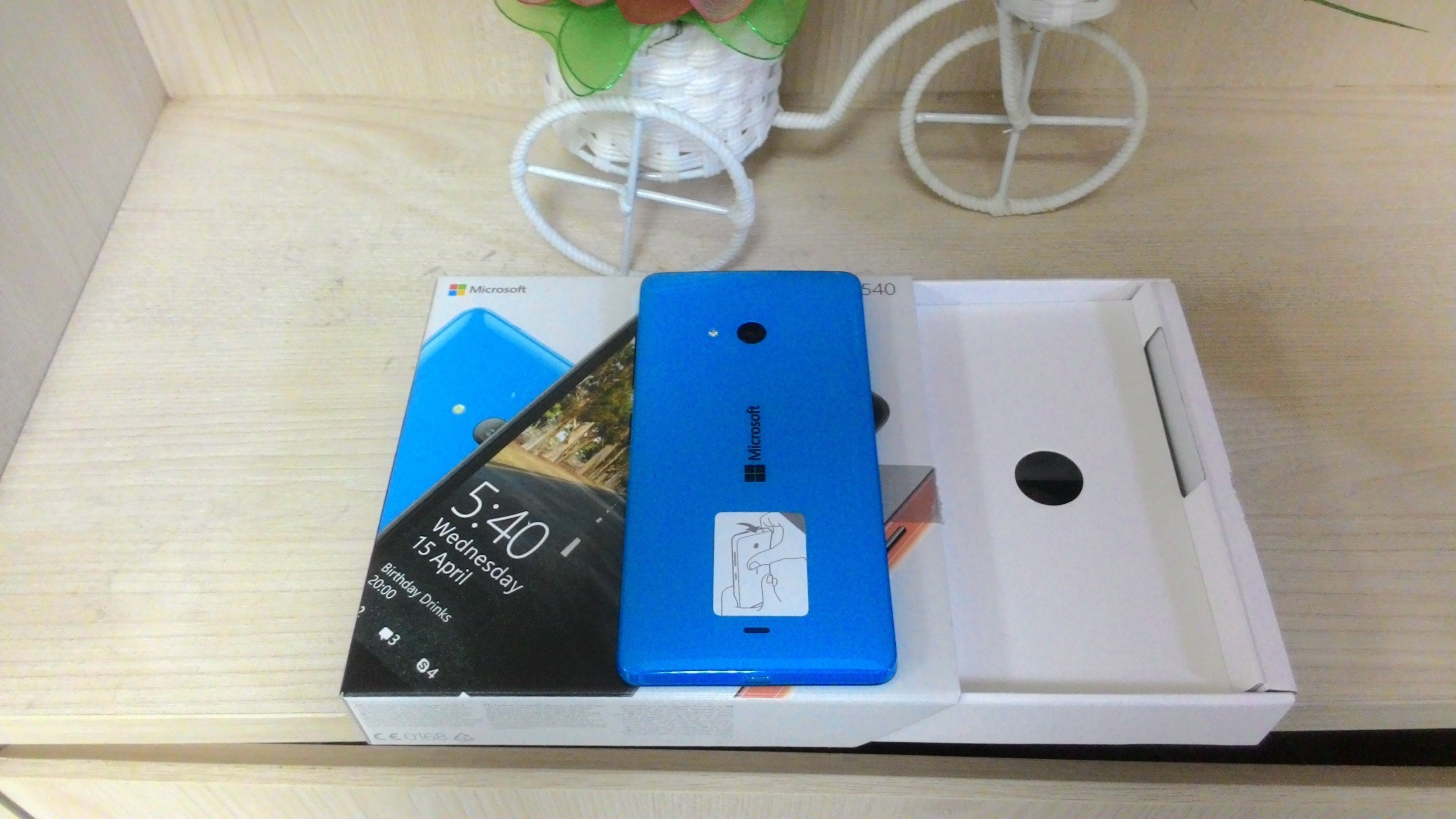 Lumia 540 selfie góc rộng