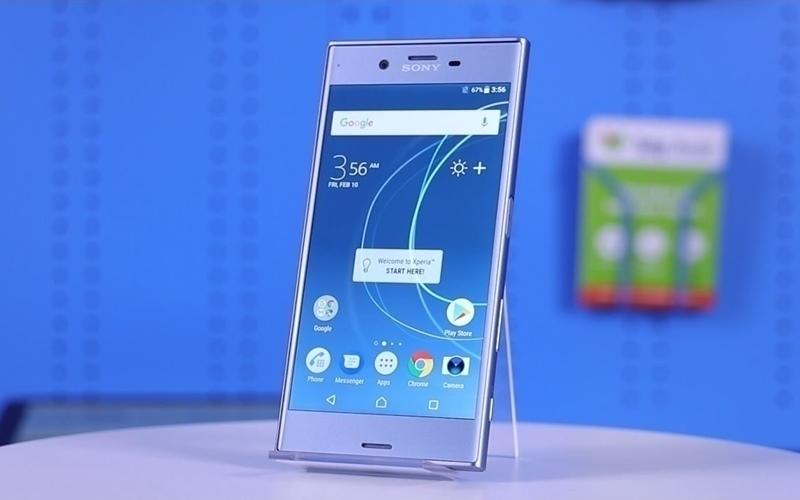 Sony Xperia XZs mang màu Ice Blue thanh lịch
