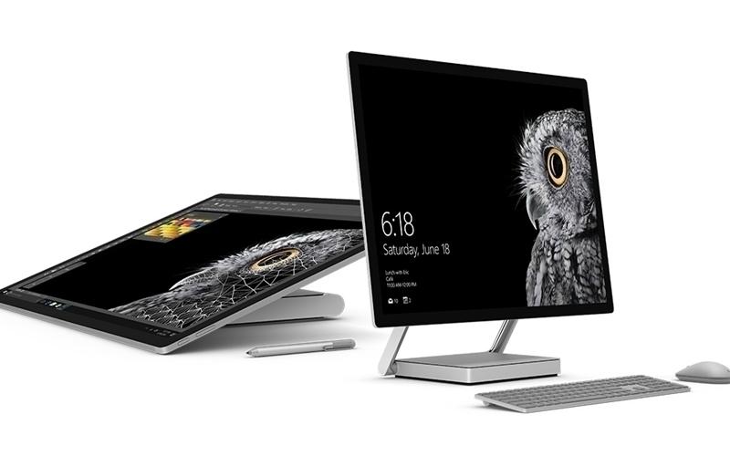 Surface Studio là máy tính bàn AIO đầu tiên của Microsoft