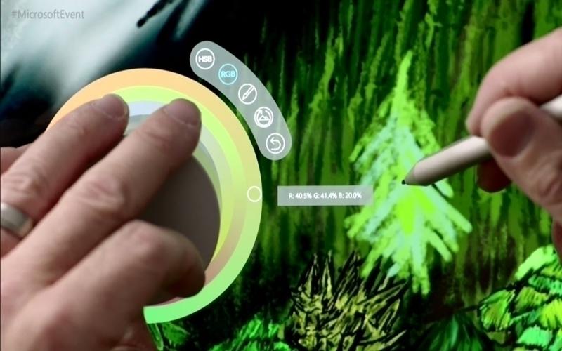 Xu hướng mới ra đời khi Microsoft giới thiệu Surface Dial