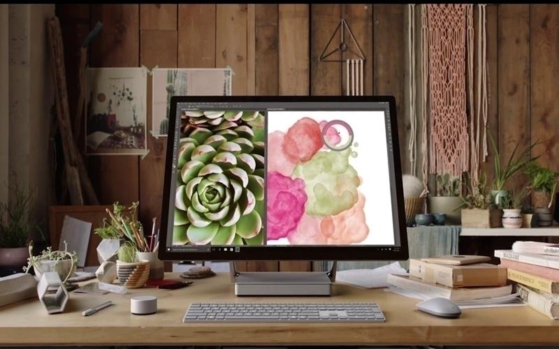 Phần mềm đồ họa chuyên nghiệp được tích hợp trong Surface Studio