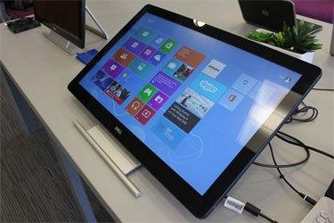 Màn hình máy tính Dell S2240T mang thiết kế hiện đại
