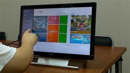 Màn hình máy tính Dell S2240T trang bị cảm ứng đa điểm