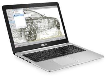 Laptop Asus K555LD với màn hình 15.6 inches phân giải HD