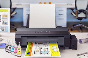 Máy in phun màu Epson L1800 có thiết kế hiện đại, tinh tế
