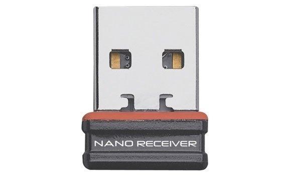 Chuột máy tính Logitech M187 đen có giao tiếp USB tiện lợi
