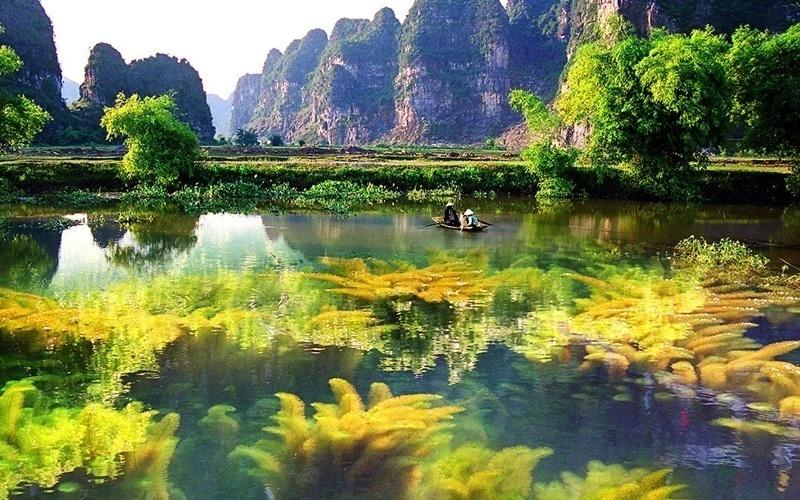 Vân Long - Ninh Bình đẹp hút hồn du khách