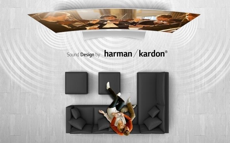 Xem tivi trong không gian tràn ngập âm thanh của loa Harman Kardon chế tác loa cho tivi Harman Kardon thì còn gì bằng