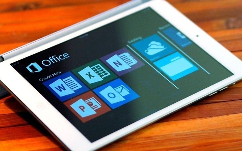 Microsoft Office sử dụng trên iPad được ra mắt vào tháng 03/2014