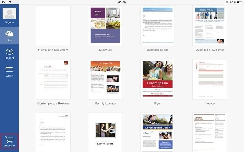 Việc tạo tài liệu mới trên iPad hoàn toàn giống như trên PC thông thường