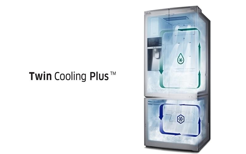 Các dòng khí lạnh được đưa đến mọi ngóc ngách trong tủ lạnh