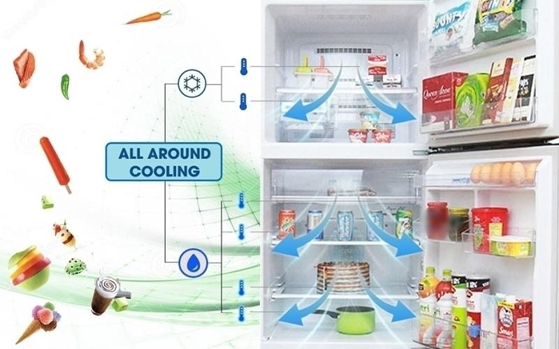 Công nghệ diệt khuẩn giúp tủ lạnh luôn có không khí trong lành