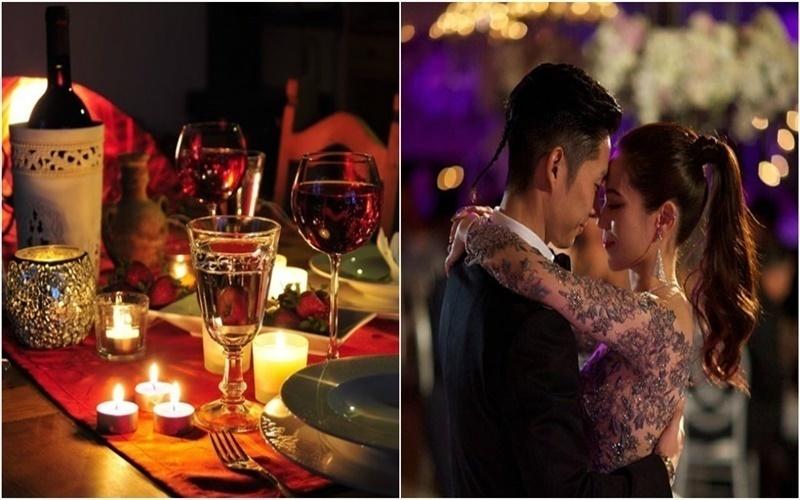 buổi tối và khiêu vũ là lựa chọn thích hợp cho ngày Valentine