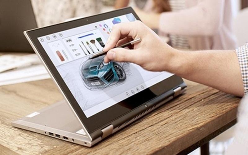 Cùng laptop cảm ứng Dell vẽ lên những ý tưởng