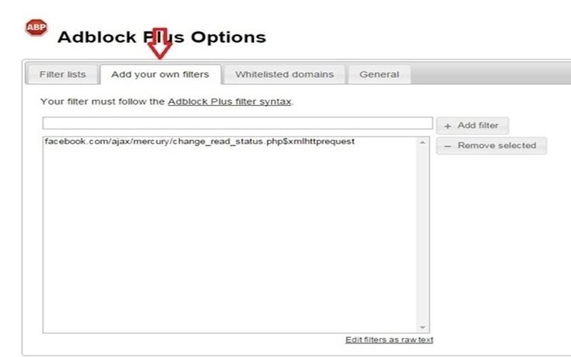 Trình chặn quảng cáo Adblock Plus cũng giúp bạn vô hiệu hóa thông báo xác nhân dễ dàng