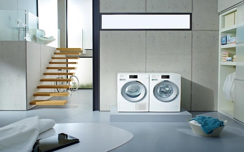máy giặt nên để chỗ bằng phẳng, vững vàng