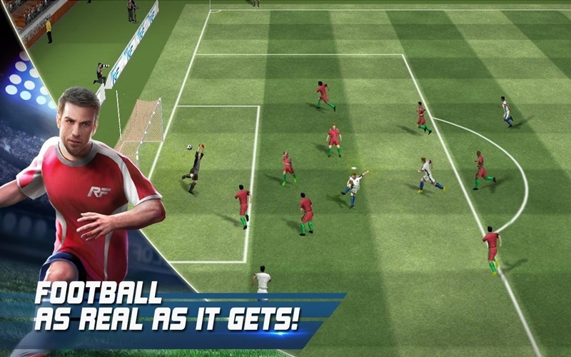 Thử sức làm huấn luận viên với Real Football