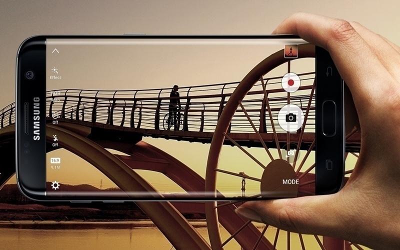 Tính năng chạm để chụp tiện lợi trên Galaxy S7 Edge