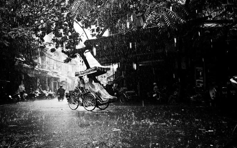 Hà Nội tháng 7 mưa ngâu