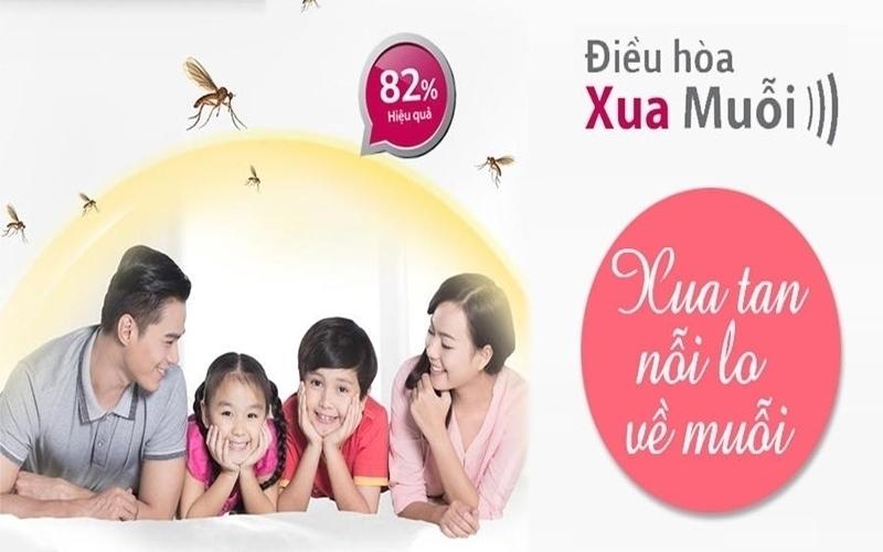 Chế độ xua muỗi giúp sức khỏe của gia đình bạn luôn được bảo vệ