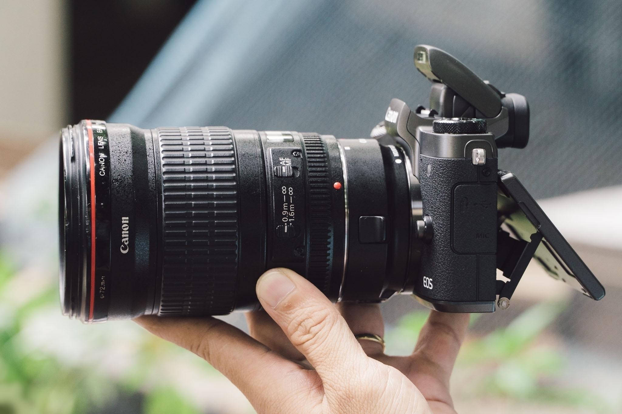 Sẽ có nhiều sự lựa chọn ống lens khi bạn sử dụng ống chuyển đổi