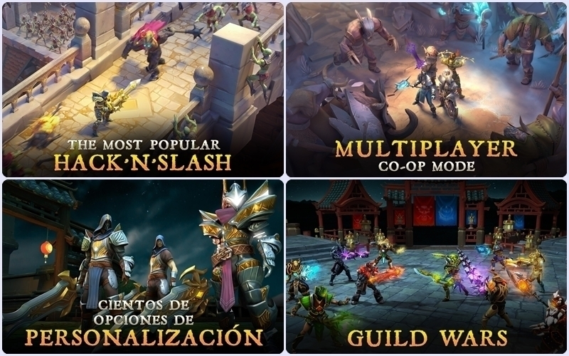 chơi game chiến đấu trên máy tính bảng