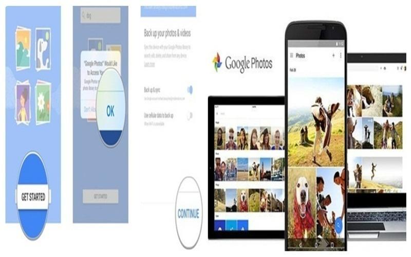 Các bước cài đặt Google Photos cho iPhone