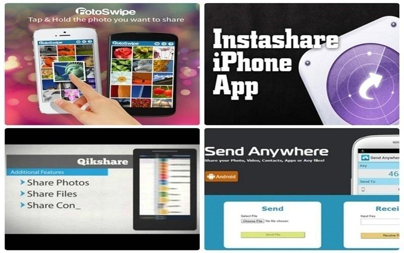 Những ứng dụng khác có thể chuyển ảnh từ iPhone sang ĐT Android