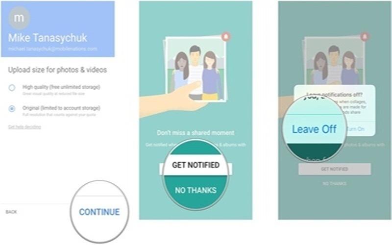 Những lưu ý khi chia sẻ ảnh trên Google Photos