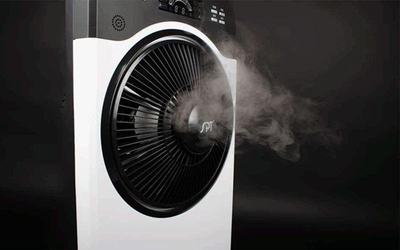 Nguyên lý hoạt động của quạt phun sương là sự bay hơi của nước