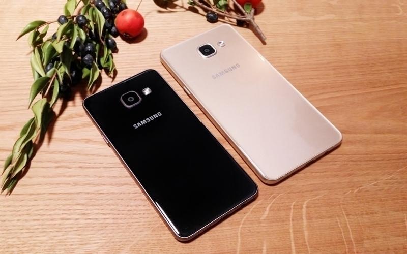 Mang màu sắc truyền thống nhưng điện thoại Galaxy A không kém phần sang trọng