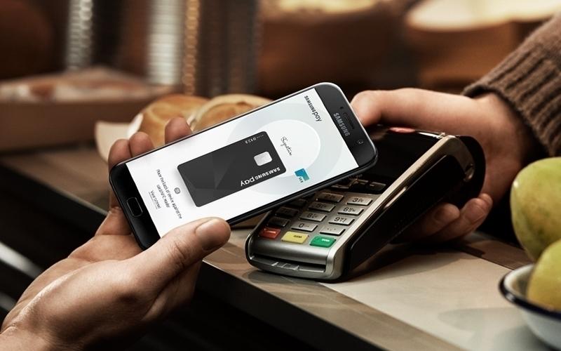 Dịch vụ Samsung Pay với điện thoại Galaxy A (2017)