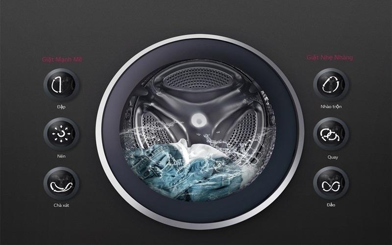 Giặt máy như giặt bằng tay với công nghệ 6motionDD