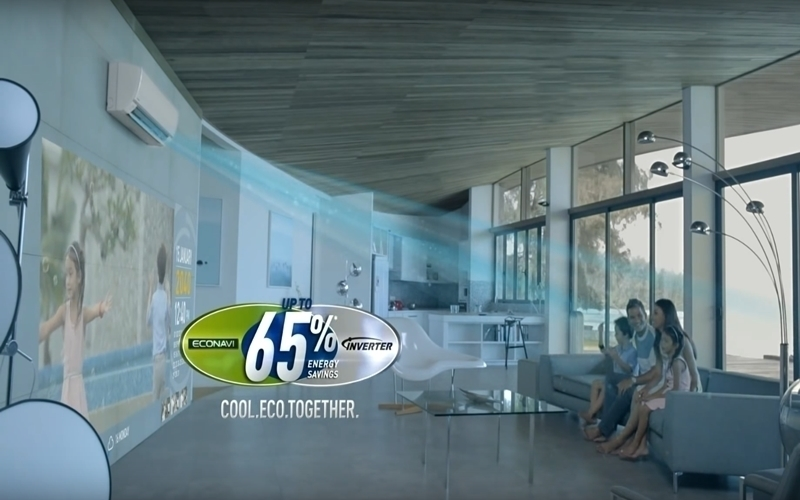 Công nghệ ECONAVI giúp bạn tiết kiệm điện năng lên đến 65% khi sử dụng