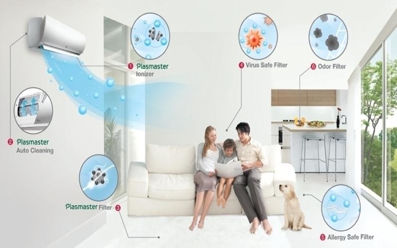 Công nghệ kháng khuẩn của LG giúp gia đình bạn luôn khỏe mạnh
