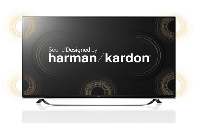 Harman Kardon chế tác loa cho tivi hãng LG