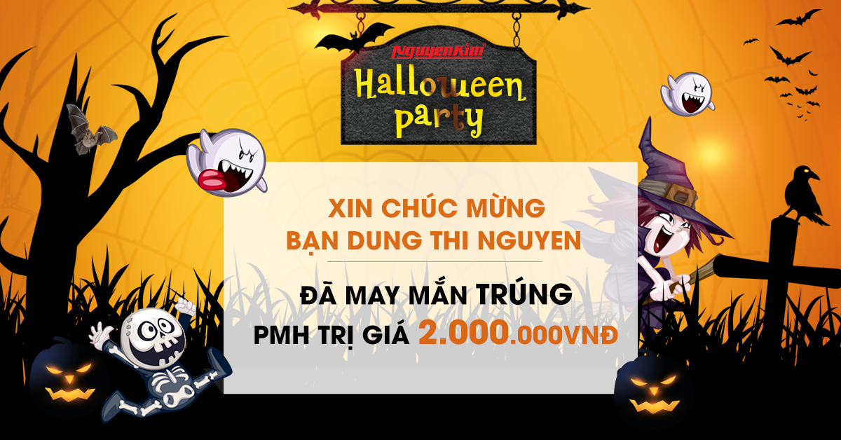 Kết quả game Halloween