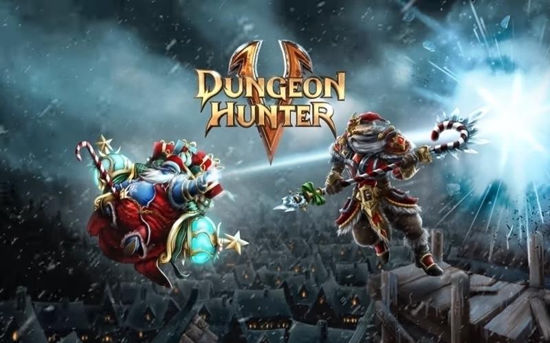 cùng tablet đắm chìm vào không gian Dungenon Hunter 5