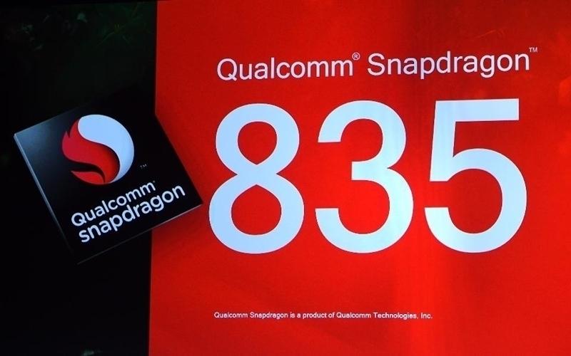 Được trang bị chip Snapdragon 835 cho phiên bản quốc tế