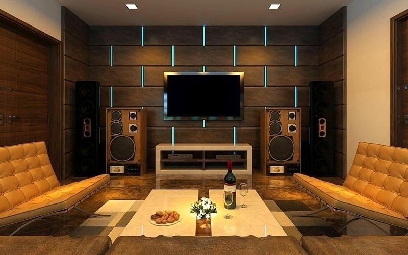Một dàn máy nghe nhạc trong phòng khách luôn là mong muốn của mọi gia đình
