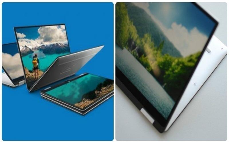 Với Dell XPS 13 (2 trong 1) mỏng, nhẹ và nhiều hình thái hơn