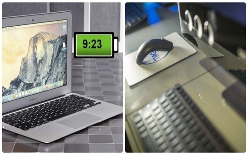 Pin của Dell XPS 13 (2 trong 1) khá trâu và bền