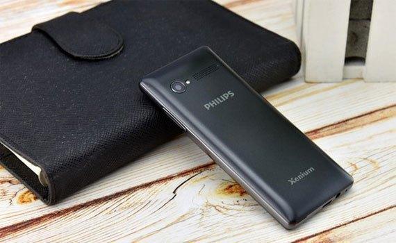 Điện thoại Philips E170 hỗ trợ thẻ nhớ ngoài