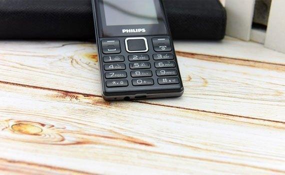 Điện thoại Philips E170 với chức năng Bluetooth Partner