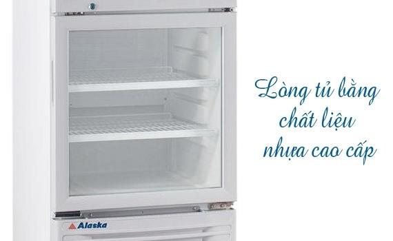 Tủ mát Alaska LC-533DB 350 lít bán trả góp 0% tại Nguyễn Kim
