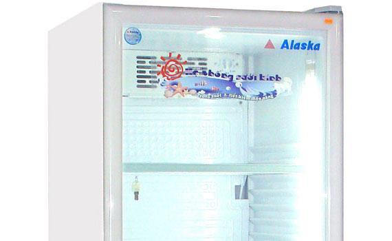 Tủ mát loại nào tốt? Tủ mát Alaska LC-643DB 350 lít